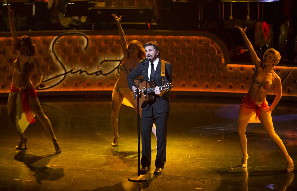 Recording Artist Juanes performs during the Sinatra 100 - An All-Star Grammy Concert at The Wynn Las Vegas on Wednesday, Dec. 2nd, 2015, in Las Vegas. (Photo by Eric Jamison/Invision/AP)