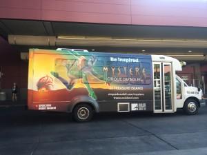 Las Vegas Bus Wraps